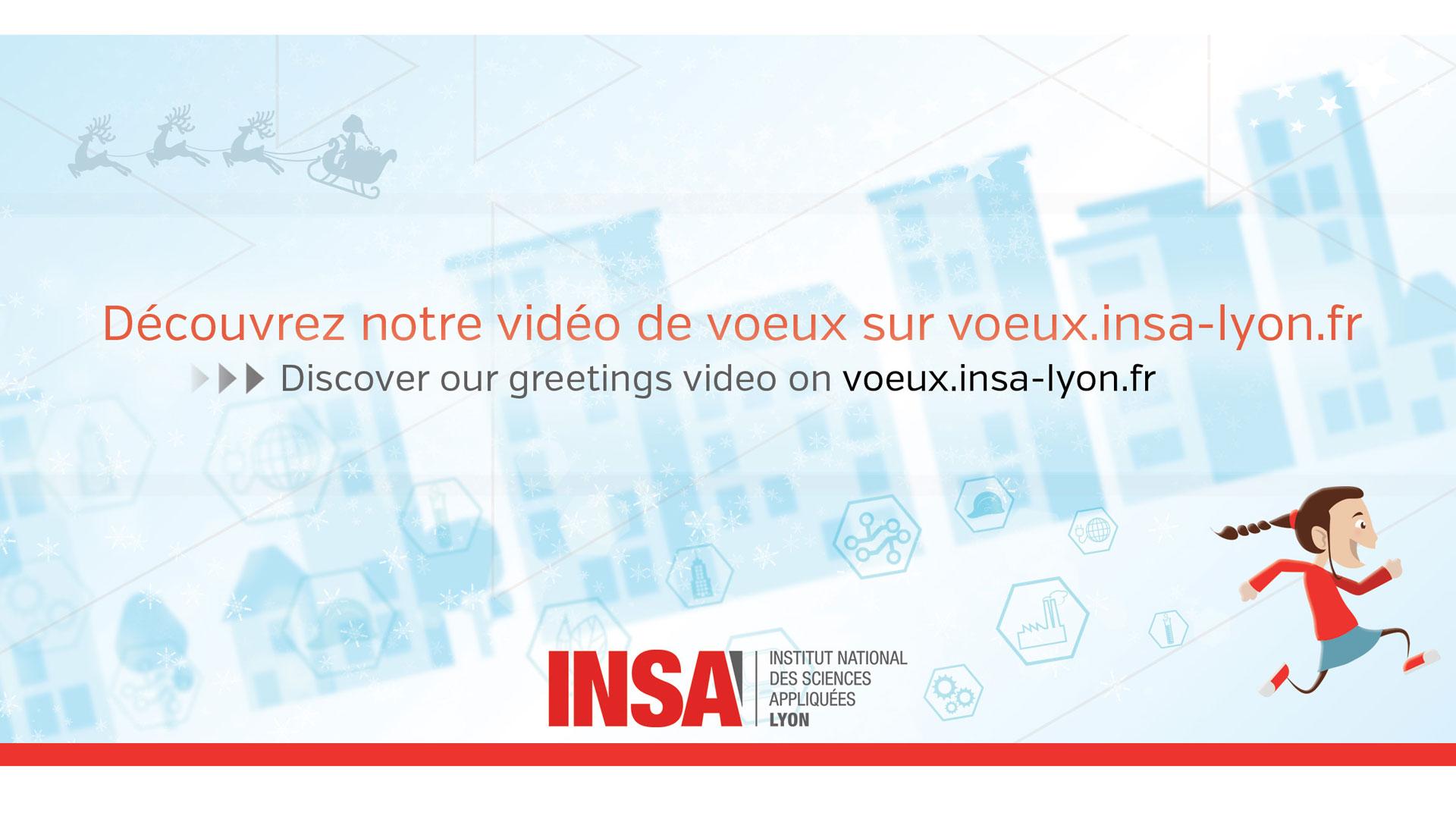 Réalisation vidéo motion design INSA